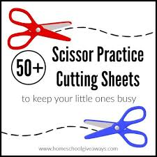 Our kindergarten reading worksheets include a number of simple stories with exercises for early readers. 50 Scissor Practice Cutting Sheets To Keep Your Little Ones Busy Homeschool Giveaways