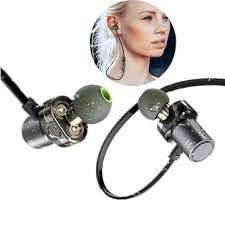 <b>awei</b> x670bl wireless bluetooth earphone dual dynamic drivers bass ...