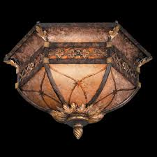fine art lamps 182145 villa 1919 traditional flush mount wrought iron ceiling light loading zoom