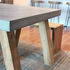 concrete dining room tables charming concrete dining table on obi recycled teak and the block concrete dining room tables
