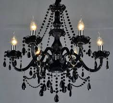 glass chandeliers chic black glass chandelier black glass crystal chandelier light modern glass