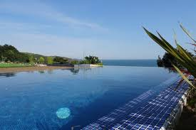 infinity pool house. This Stunning View Could Be Yours For £1.4m (Image: West Wales Finest) Infinity Pool House