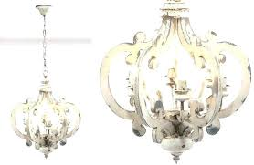 home t round wood chandelier distressed rustic chandeliers french country reclaimed dining room