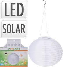 Solarlamp Lampion Balvorm Wit Woonhomenl Woonhomenl
