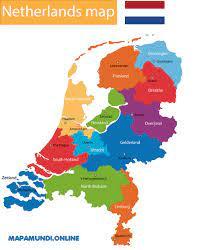 Holanda compuesta por holanda meridional y holanda 2015 alemania ruta romantica. Mapa De Paises Bajos Politico Fisico Descargar E Imprimir 2021