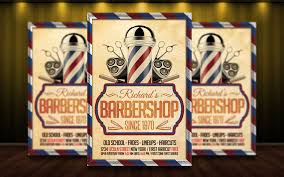 barber flyer barber shop flyer psd by matteogianfreda94 on deviantart