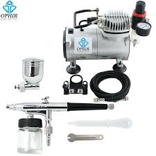 air paint compressor pro dual action airbrush kit with air compressor gravity airbrush paint set air paint compressor