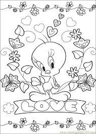Tweety Bird Coloring Pages Coloring Pages Tweety 65 Cartoons