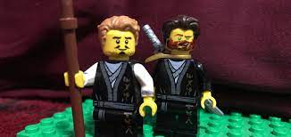 First look young wu and Garmadon in the unstoppable force: Ninjago