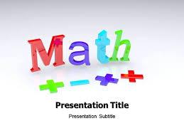 Teachers Powerpoint Templates Powerpoint Template Teachers Math Templates Free Download For