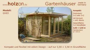 Gartenhaus selber bauen / Gerätehaus modern - holzon Design ...