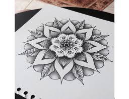 Tetování Mandala štěstí