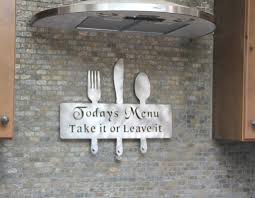 Metal Kitchen Wall Art Decor Kitchen Wall Art Ideas Kitchen Wall Art Decor Fresh For Home