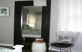 ikea white floor mirror. Delighful White IKEA Floor Mirrors Black With White Drapery Mirror Ikea Intended For Large  Prepare 14 And
