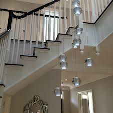 long drop lighting. bocci style stairwell chandelier long drop lighting g