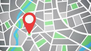Red Pinpoint On The Map Stock Footage Video 100 Royalty Free 1030952750 Shutterstock