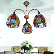 multi colored crystal chandelier colorful exciting chandeliers lamp cover with gold iron color