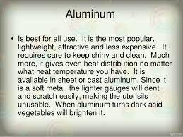 aluminum kitchen utensils. Brilliant Aluminum Materials Of Kitchen Utensils And Equipment 2 Aluminum  On A