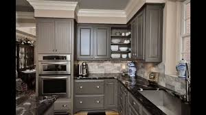 Kitchen  Wonderful Grey Kitchen Ideas  With Grey Painted Wood - Granite kitchen ideas