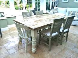 chic dining room sets shabby chic dining room table the simple farmhouse dining room furniture collection