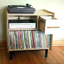 vinyl record furniture. Vinyl Lp Storage Furniture Record Cabinet Shelves .