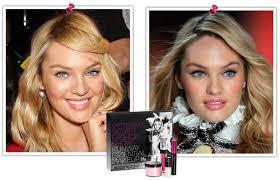 victoria secret runway makeup
