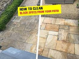 how to clean black spots from your