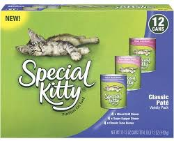 Amazon.com: Special Kitty Classic Pate Variety Pack Wet Cat Food ...