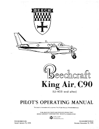 beech king air c90 pilot's operating handbook Beechcraft Super King Air 200 at Beechcraft C90 Wiring Diagram