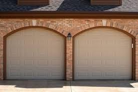 almond garage doorCHI Garage Door Models 2250 2251 and 2255
