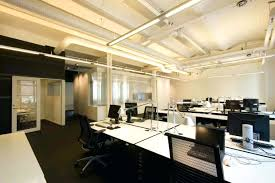 office interior design toronto. Various Accessories Modern Office Idea Design Ideas With White Color Desk Featuring Black Back High Chairs Complete Inovative Interior Toronto E