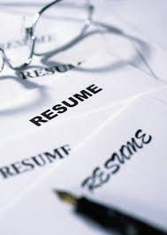 resume parts of a resume