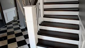 how to paint wood stairs preparing timber stairs for painting diy doctor