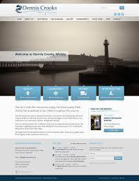 Web Design Whitby Dennis Crooks Fish Merchants By Betton Design Betton