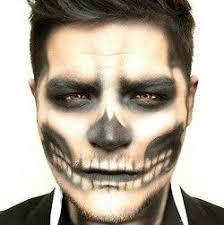 makeup for guys skeleton more