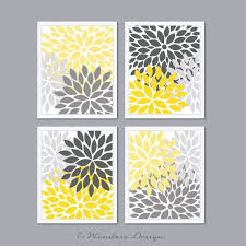 diy yellow and gray wall decor yellow wall decor ideas room d on modern decoration yellow