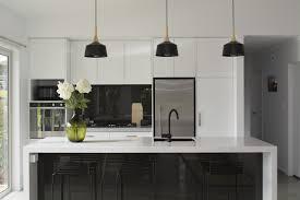 Kitchen Interiors Kitchen Black And White Minimalist Kitchen Ideas Grey And White
