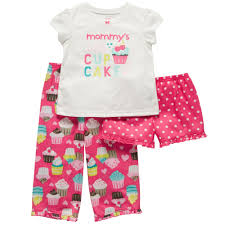 3-Piece Jersey Pj\u0027s | Baby Girl Pajamas ~ must go to the Carter\u0027s store soon!