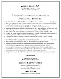 Resume Rn Awesome Resume For Nursing Student