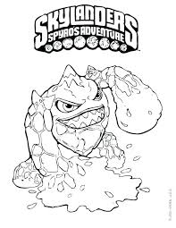 Skylanders Superchargers Free Coloring Pages Free Coloring Pages