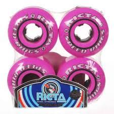 Ricta Speedrings 81b Pink Black Skateboard Wheels 53mm P10261 20899