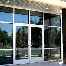 swing aluminum frame glass door