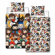 harry potter charm uk single us twin unfilled duvet cover pillowcase set new