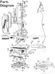 similiar oreck xl vacuum parts diagram keywords parts for u4080h2r oreck vacuum cleaners