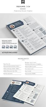 Graphic Resume Template Resume Sample