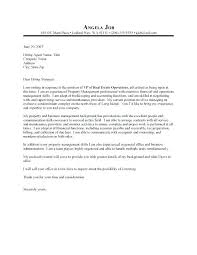 Best Ideas Of Cover Letter Real Estate Sample Cover Letters For