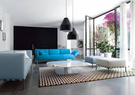 blue couches living rooms minimalist. Blue Sofas Selection For Minimalist Living Room : Black Lamps White Couches Rooms