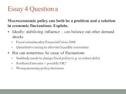 ec class lt christina ammon ppt  18 essay 4 question a macroeconomic policy