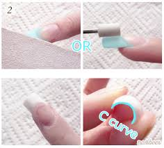 acrylic nails filing technique tips