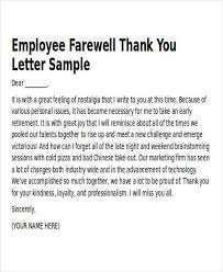 Work Thank You Note